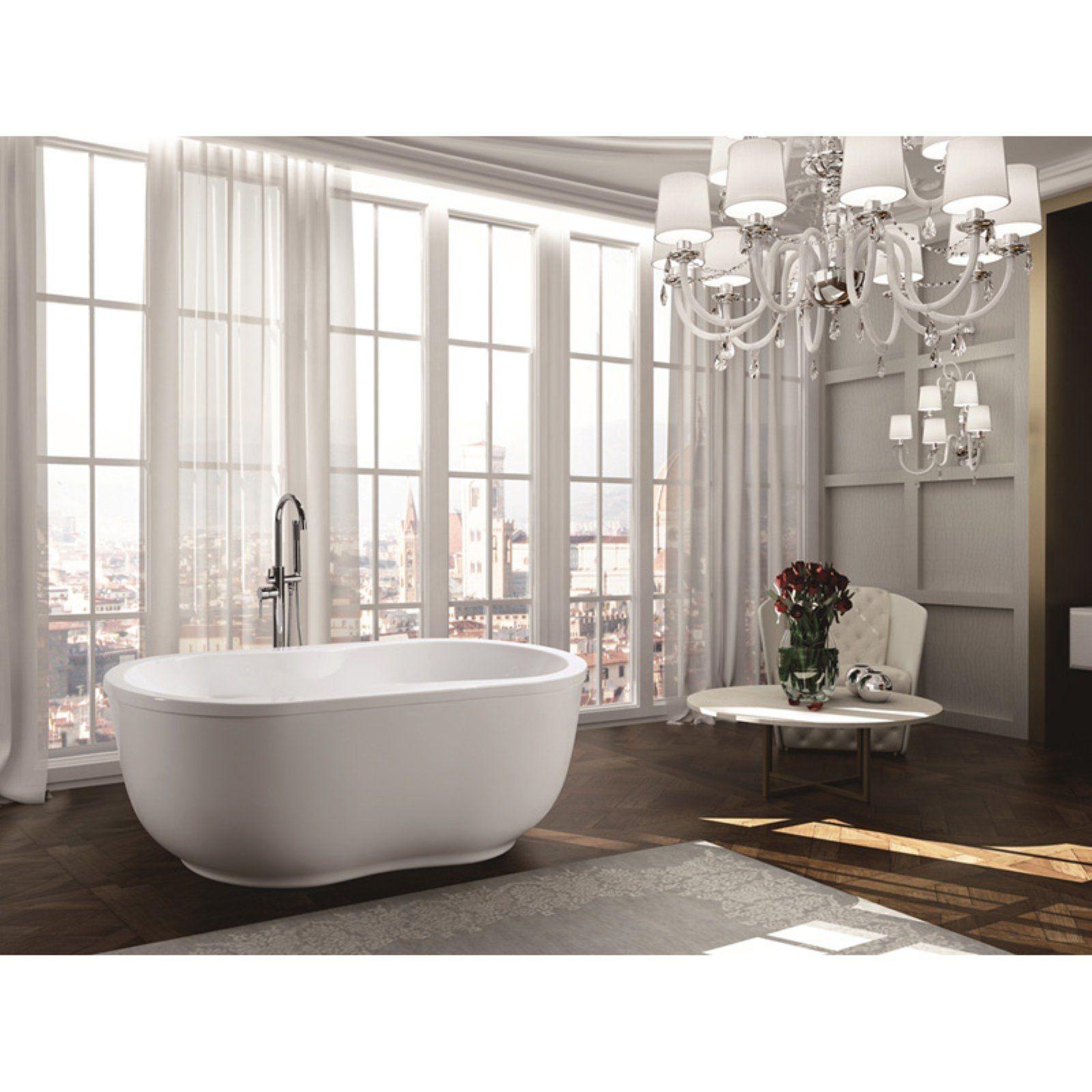 Bellaterra Home Brescia 65 In Freestanding Bathtub Free Standing Bath Tub
