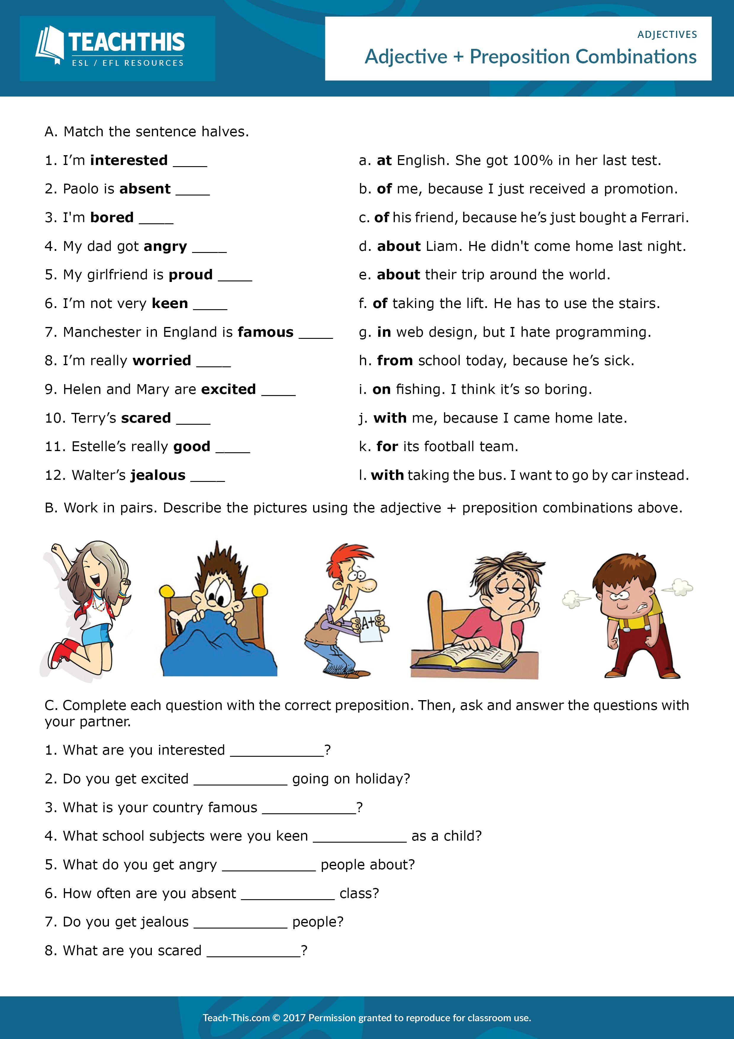 Adjectives English Teaching Resources English Fun Teaching English [ 3508 x 2480 Pixel ]