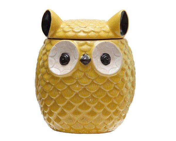 Delightful Owl Cookie Jar #cookiejar #owls