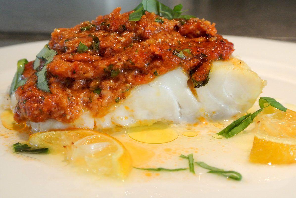 Een heerlijk gerecht uit de mediterrane keuken zon op je bord