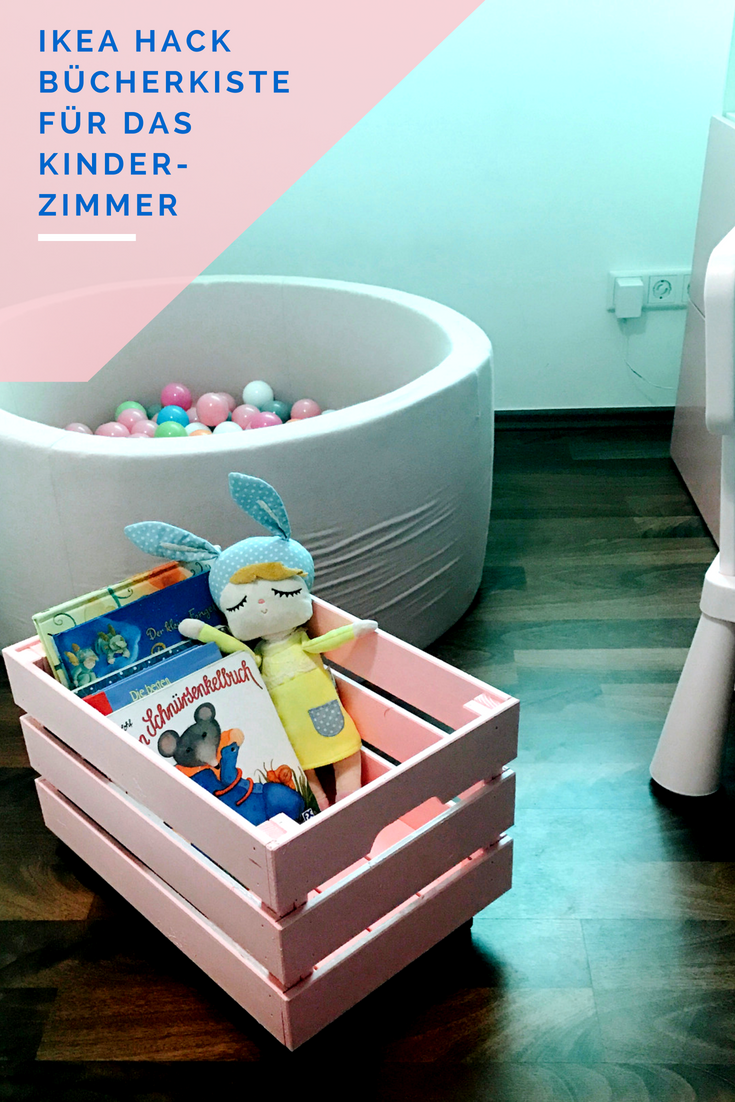 Einer der IKEA Hacks. Bücherkiste DIY | Детские комнаты | Pinterest ...