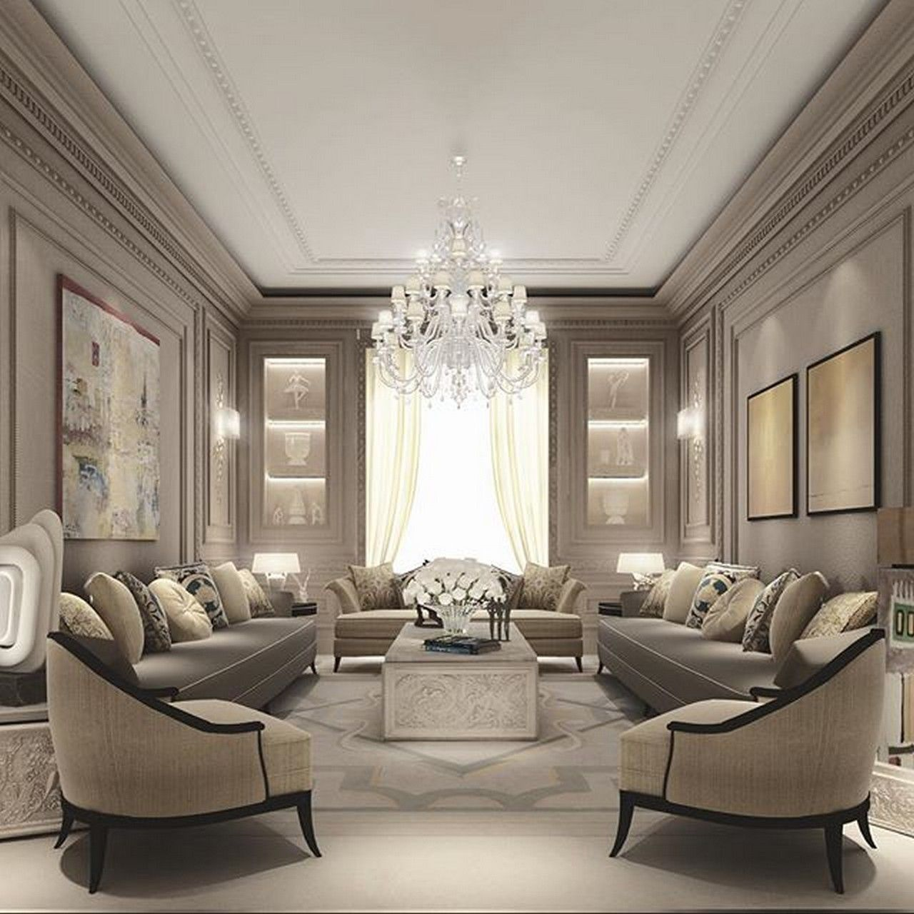 See More 37 Best Ideas Monochromatic Color Scheme For Living Room Homadein