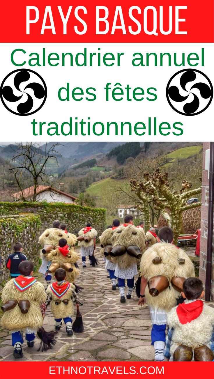 Calendrier Deb 2021 Calendrier fetes Pays Basque 2020 2021 | Ethno Travels en 2020