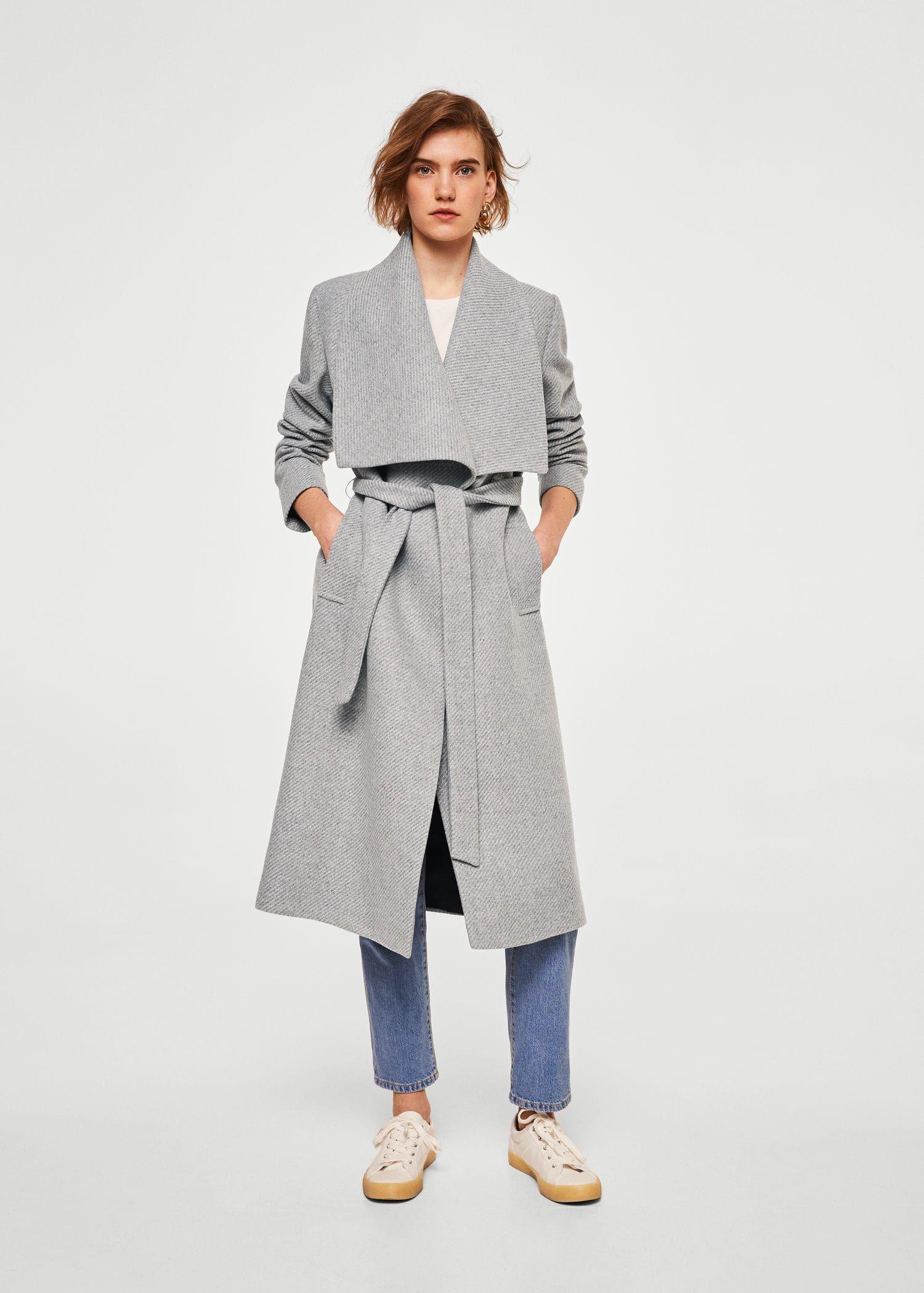 834a48c4d262 Manteau en laine avec ceinture - Femme   Juste because I love (want ...