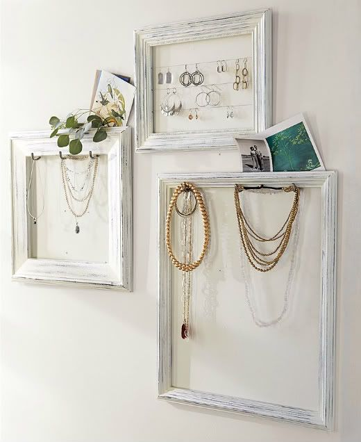 More frame organizers for jeweleryt