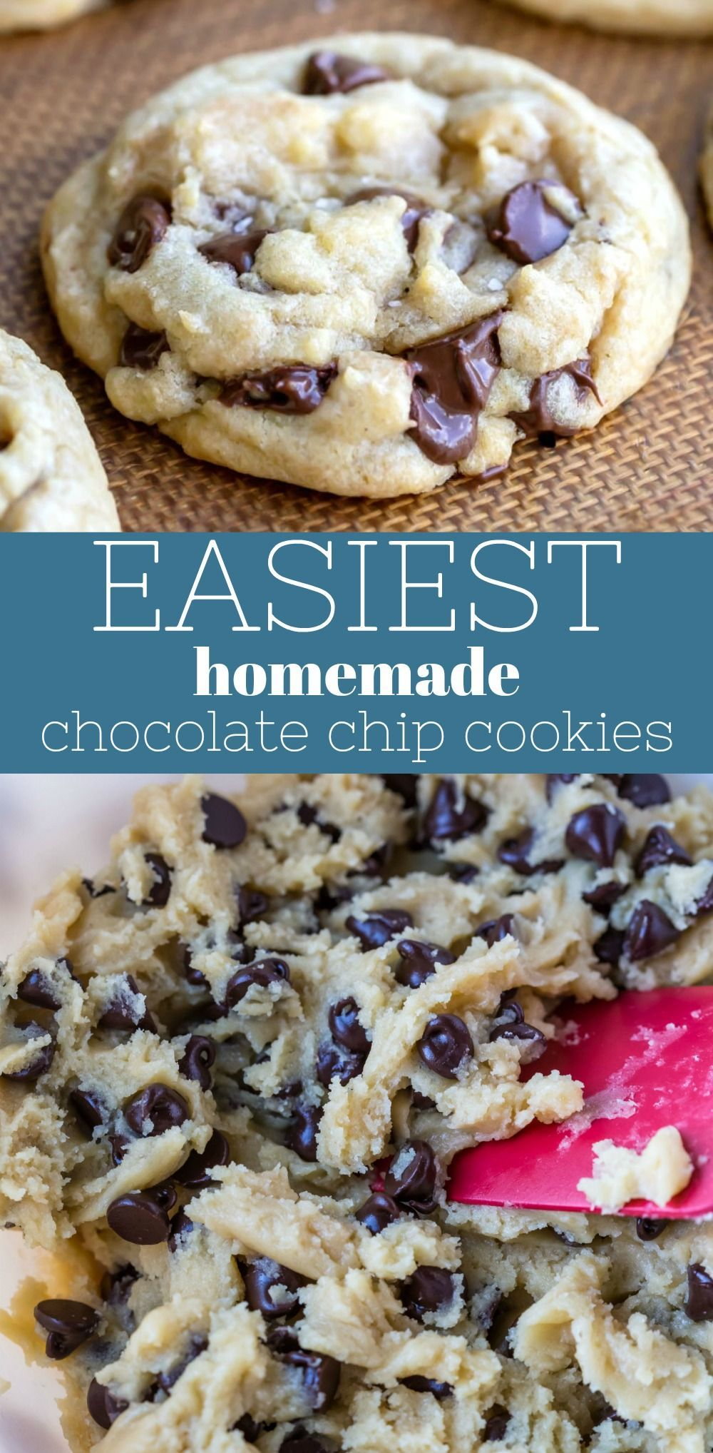 Easiest Chocolate Chip Cookie Recipe
