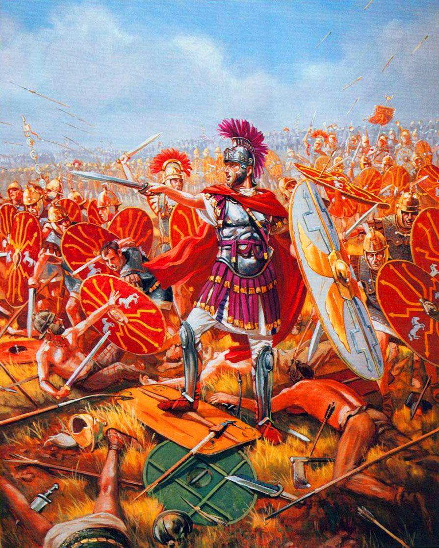 Julius Caesar In Battle Julius Caesar l...