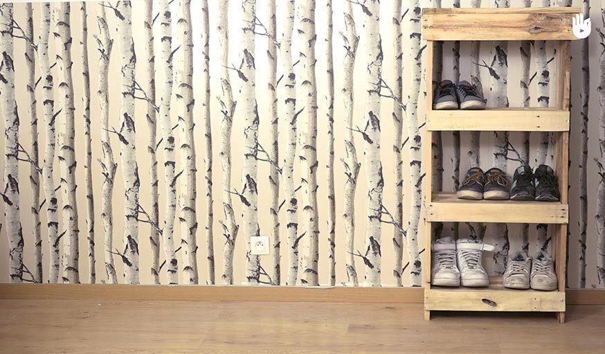 Fabriquez un meuble à chaussures en bois de palette pour moins de 20