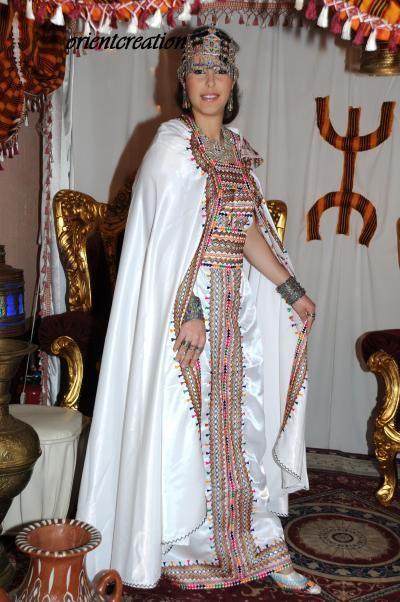 Exceptionnel Negafa Algerienne, Robe Kabyle, Robe De Mariée à | Mariées  MN45