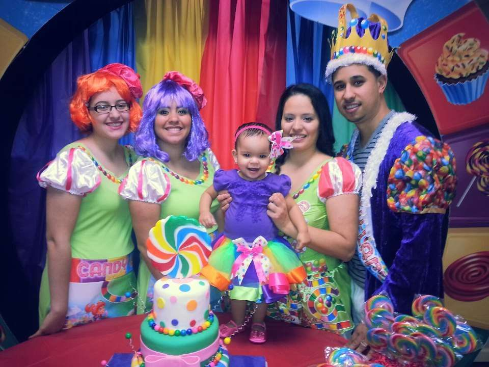 Candy Candyland Land Birthday Party Ideas