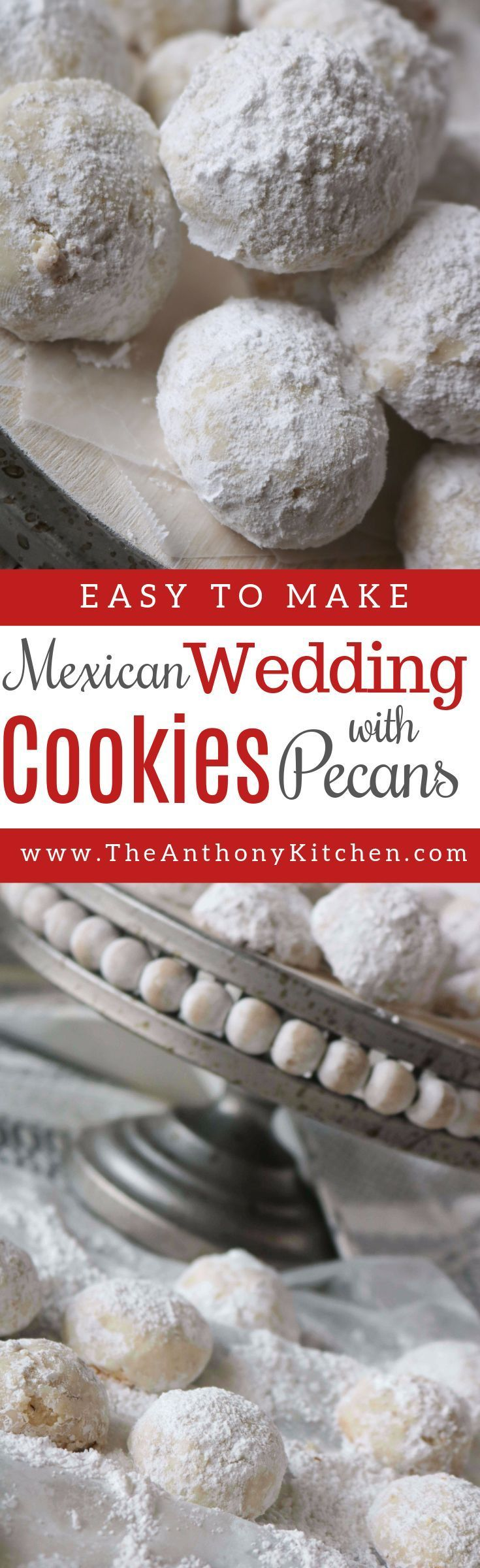 Mexican Wedding Cookies Recipe (With images) Mexican