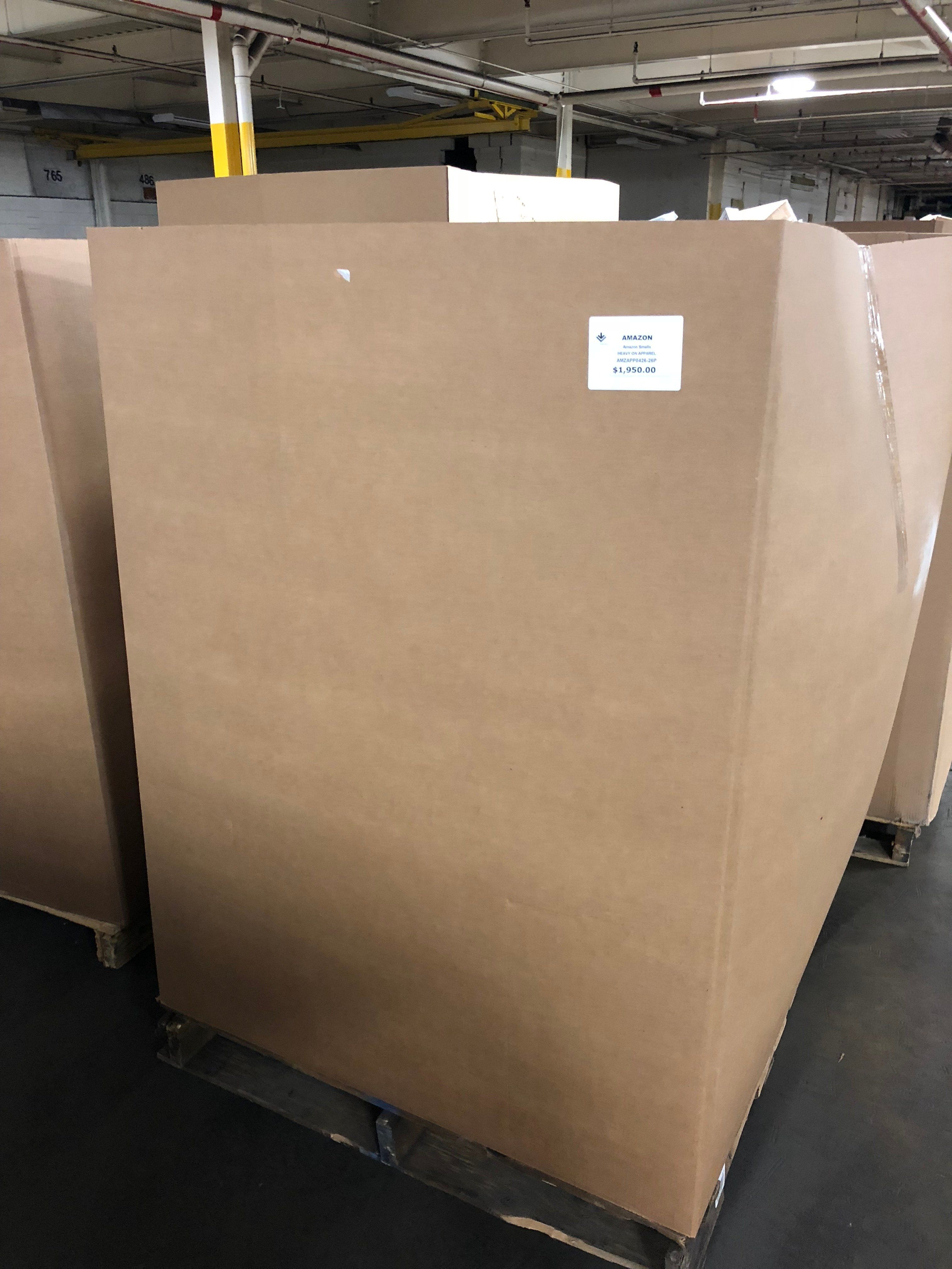 Amazon Heavy Apparel Pallets #online #amazon #liquidation