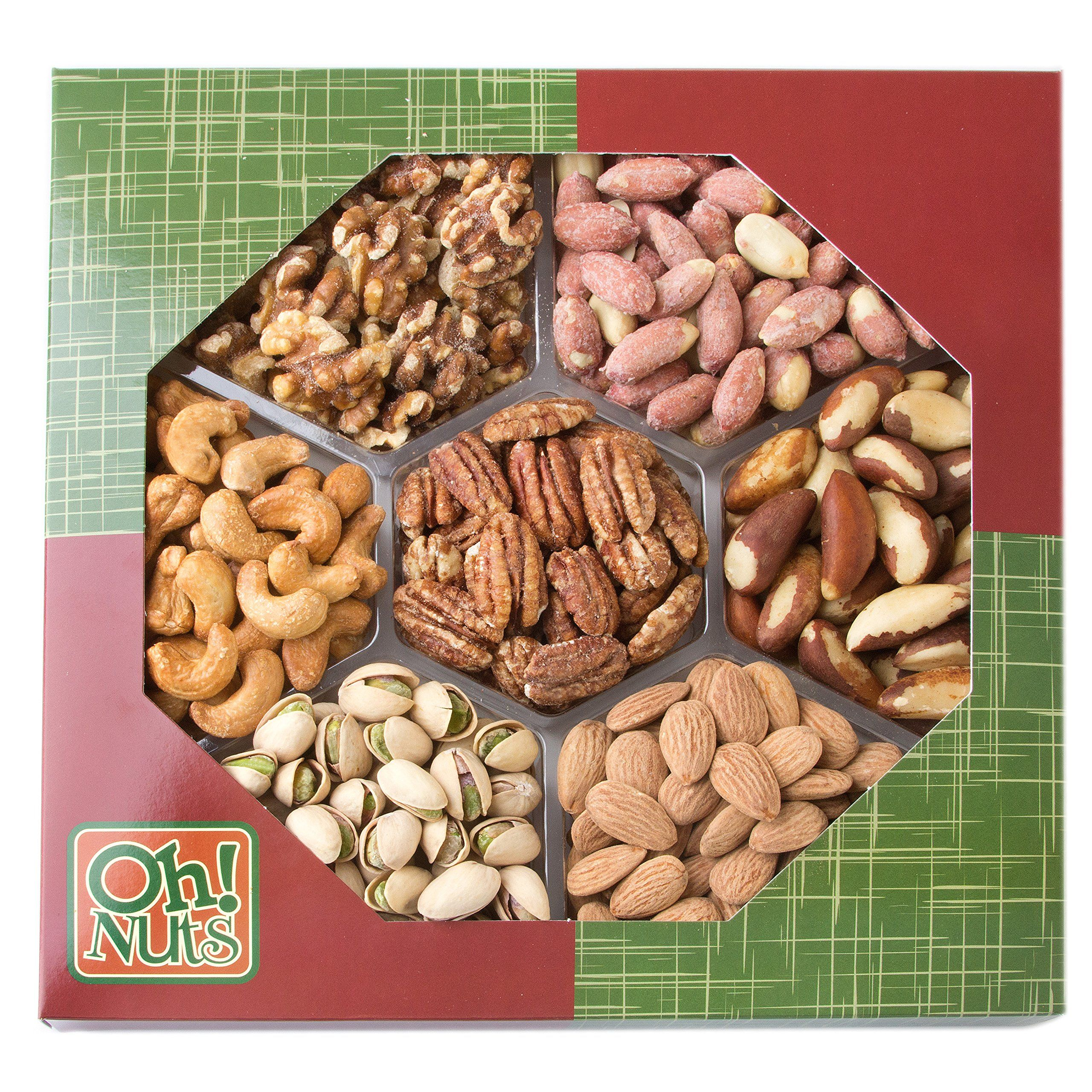 Healthy Snacks Dry Roasted Nuts Unsalted 7 Variety Food Gift No Additives No Oil No Salt Great Gift For Him Or Her Vegans Healthy Food Gifts Variety Food Food
