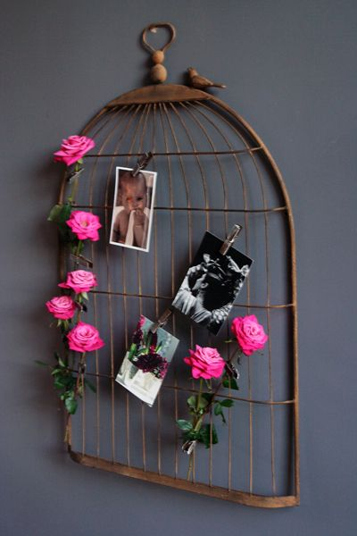 40 Wall Decor Ideas For Your Home Bathroom Apartment 40 Log Interesting Birdcage Memo Board