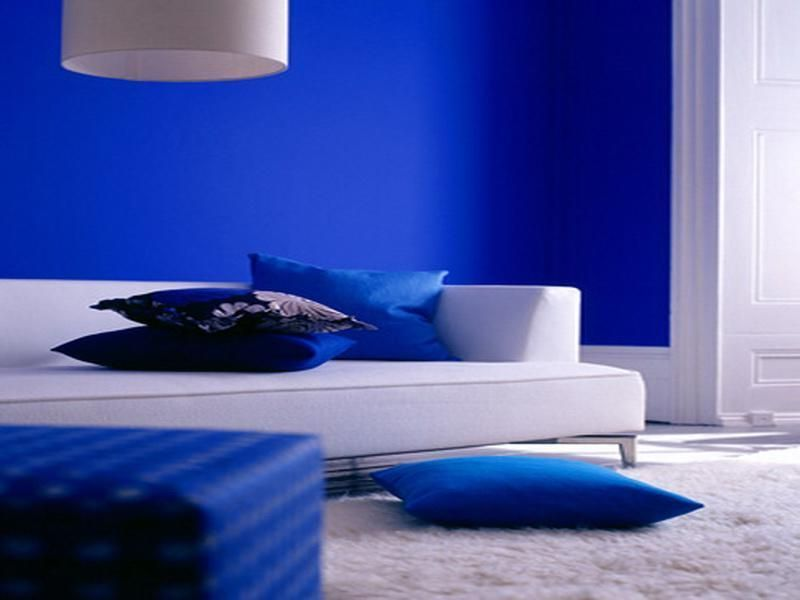 Attractive Shades Of Blue Paint 8 Cobalt Interior