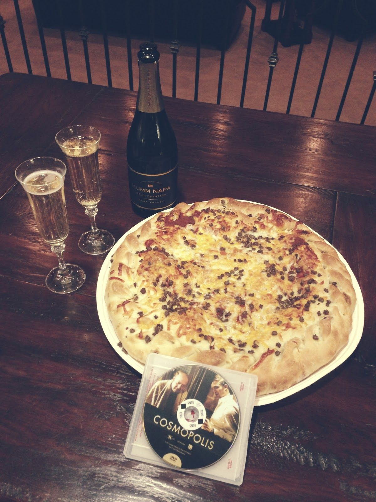 Perfect combination - Wine & Pizza