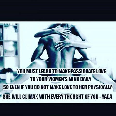 How to make passionate love to your woman