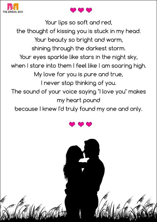 Romantic Love Poems For Her 7