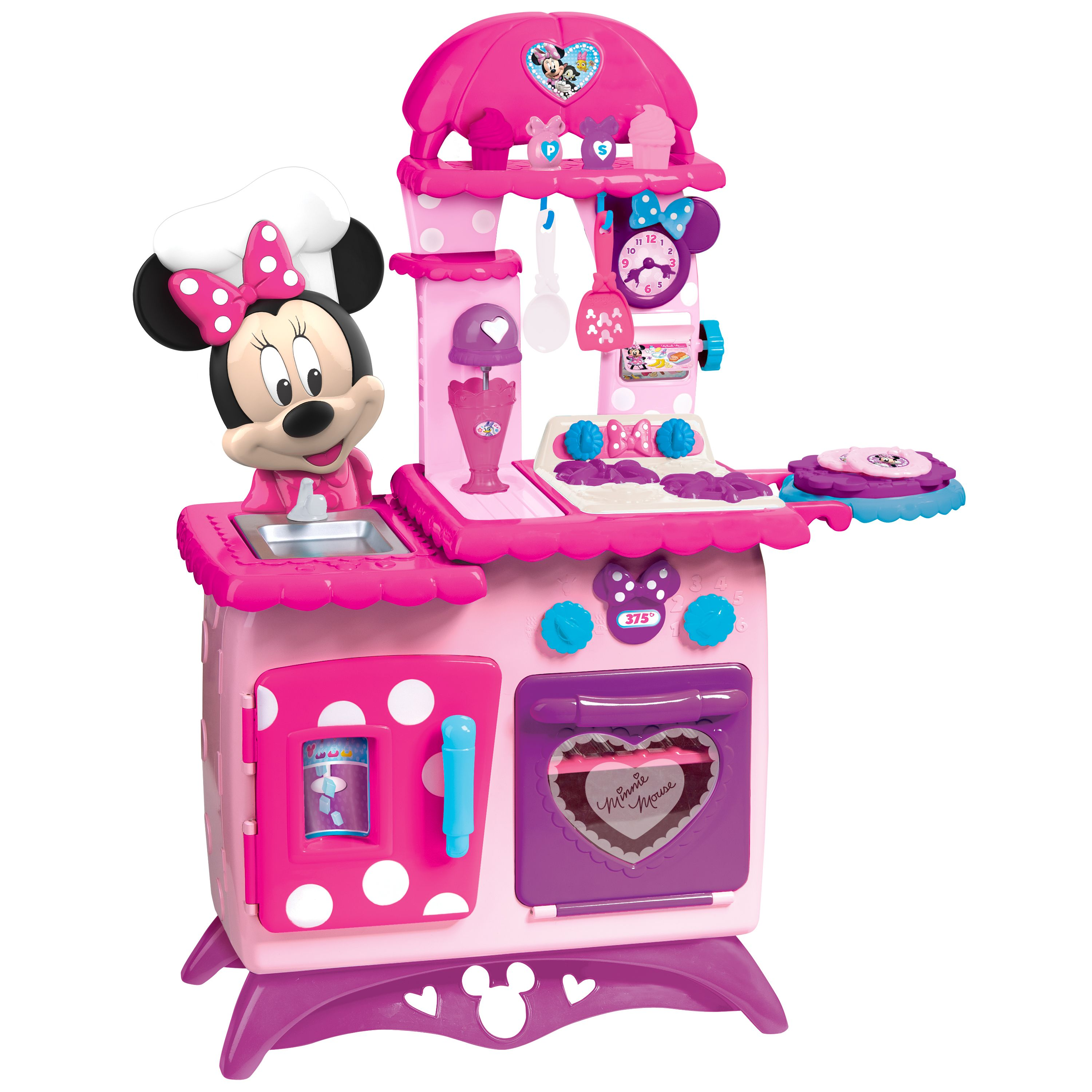 Minnie Flipping Fun Kitchen Ages 3 Walmart Com Minnie Mouse Kitchen Minnie Mouse Toys Minnie Mouse Girl