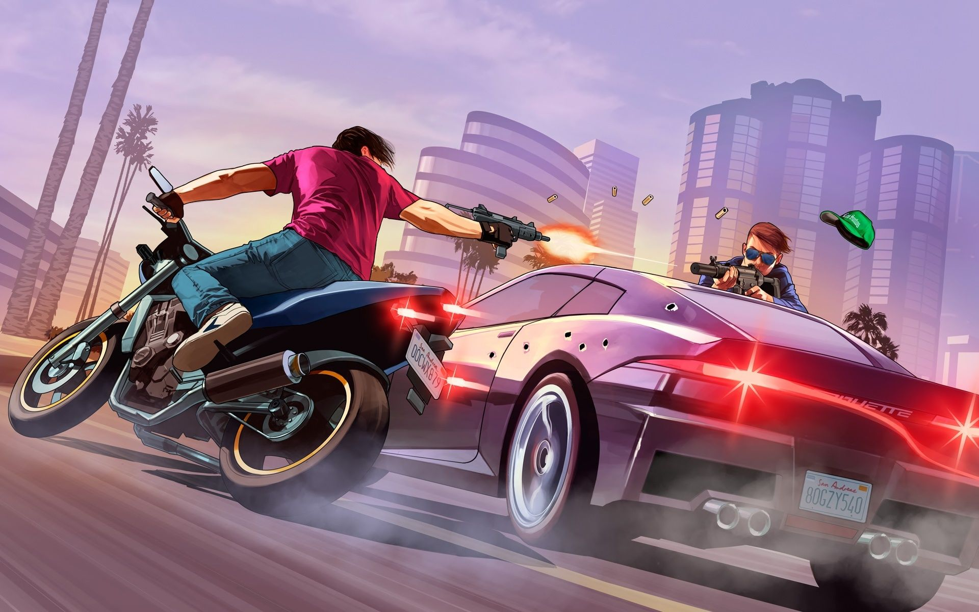 Video Game Grand Theft Auto V Wallpaper