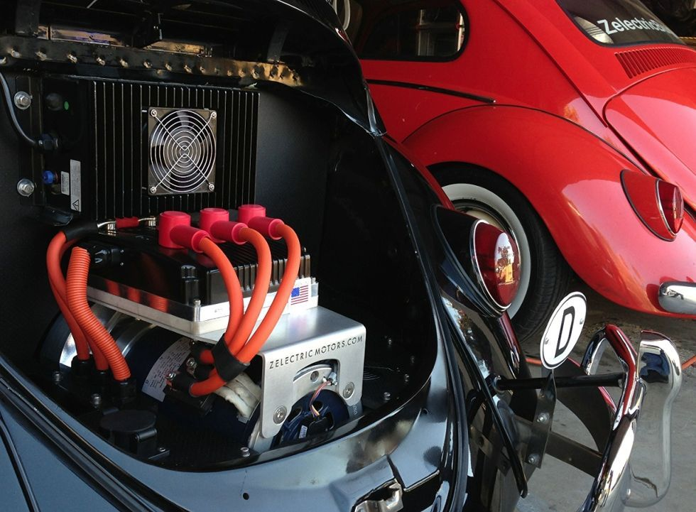 Ever Wanted An Electric Vw Beetle Zelectric Motors Has