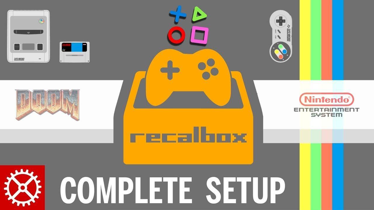 Complete Recalbox Raspberry Pi 3 Setup Tutorial - ROMS, SSH, UPDATES