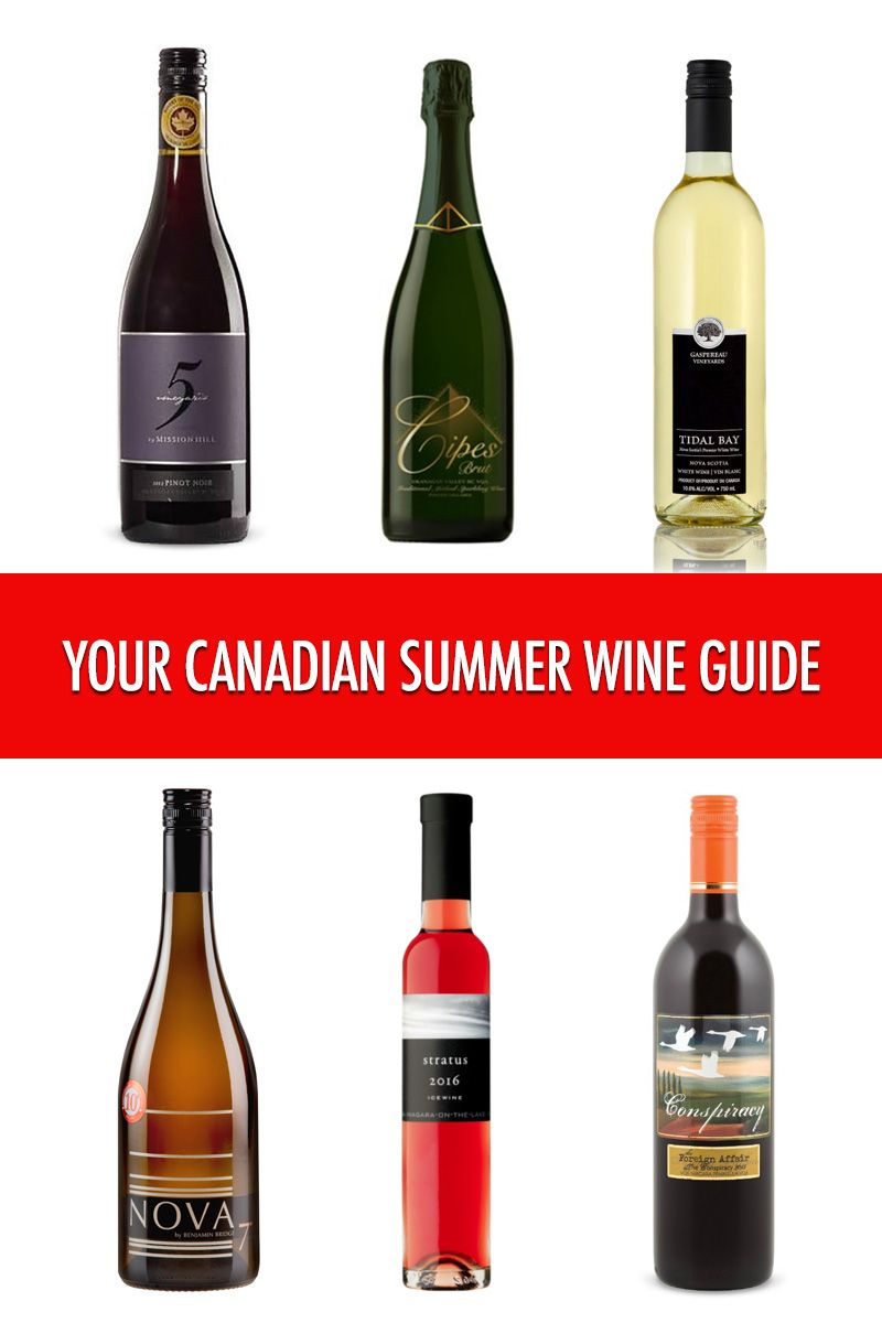 The Perfect Canadian Wines To Celebrate Canada Day Food Bloggers Of Canada Summer Wines Wine Guide Wines