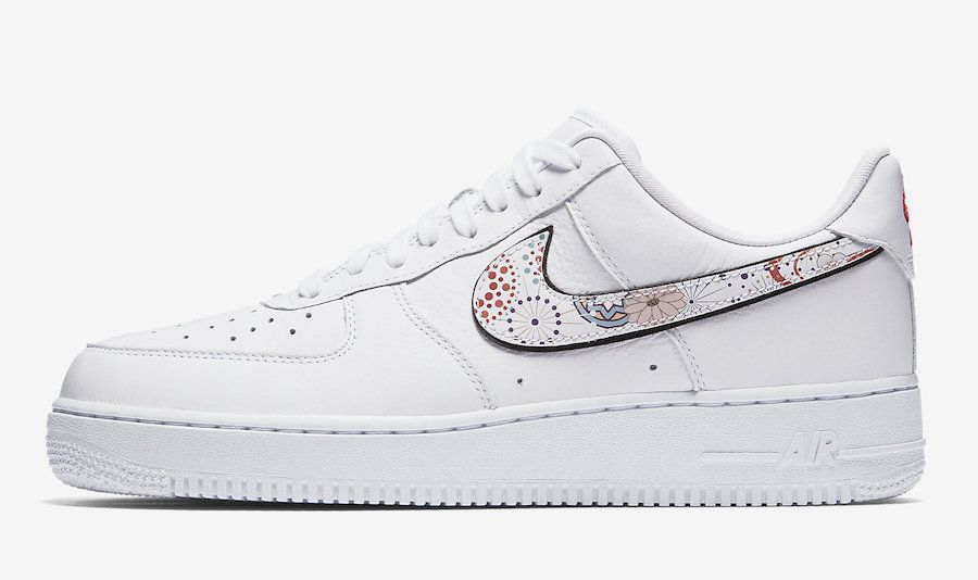 Nike Air Force 1 White Vachetta Tan Sneaker Bar Detroit