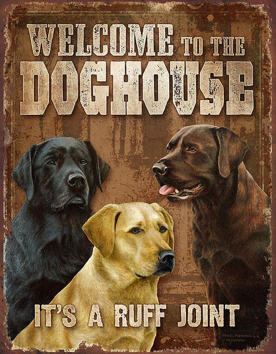 Welcome To The Dog House Art Print By Jq Licensing Dog Art Dog