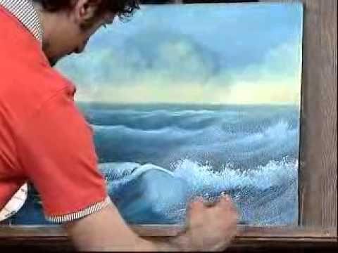 Yagli Boya Resim Gun Batimi Deniz Manzarasi Part 1 Youtube Resim Resimler Resim Sanati