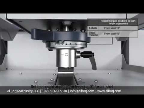 Epson SureColor SC F2000 - Workflow How to print a T-Shirt