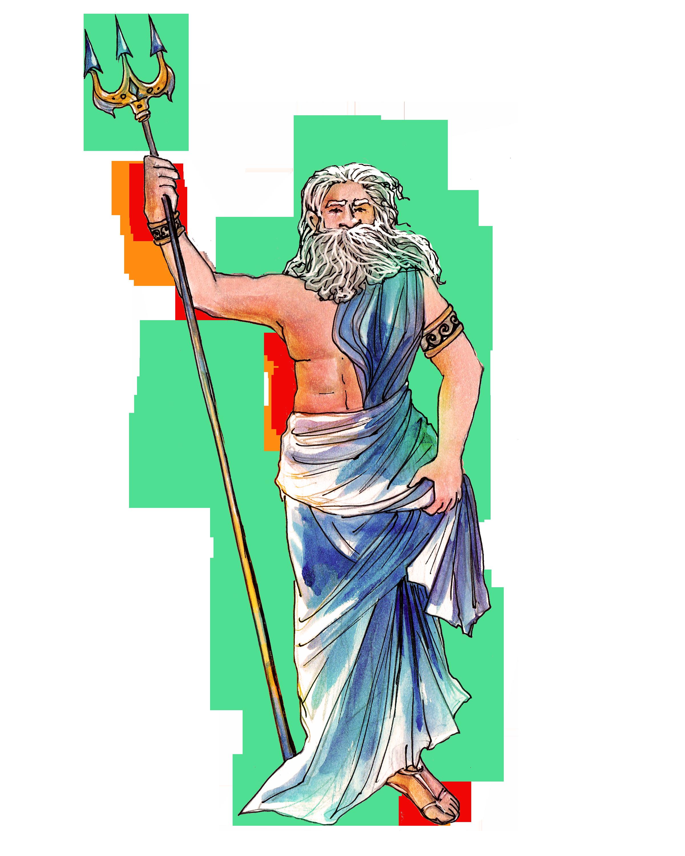 God Poseidon Printable Bundle You Ll Get Poseidon S