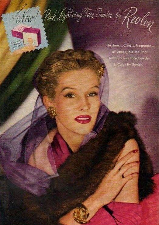 Pin on Vintage makeup ads