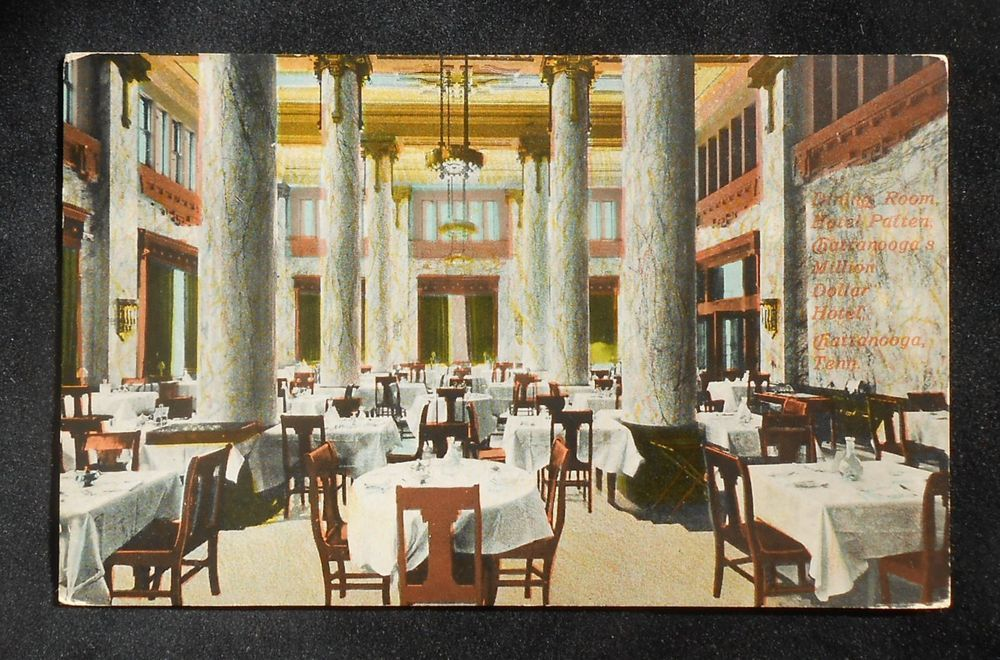 1900s Interior Dining Room Hotel Patten Million Dollar Chattanooga TN PC