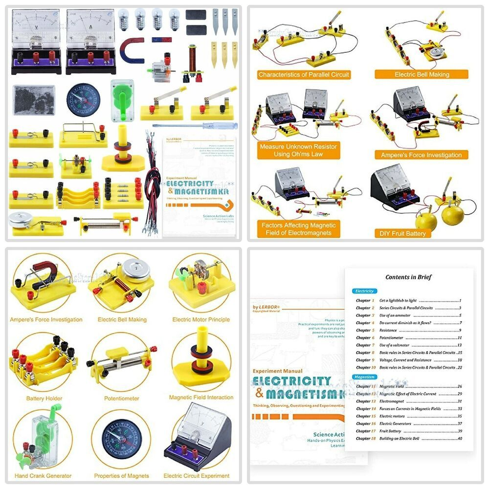 Circuit Starter Kit Kids Educational Science Discovery Toy
