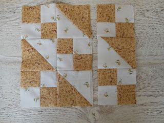 Oh, Oh, Quilts!: Jacob's Ladder Tutorial