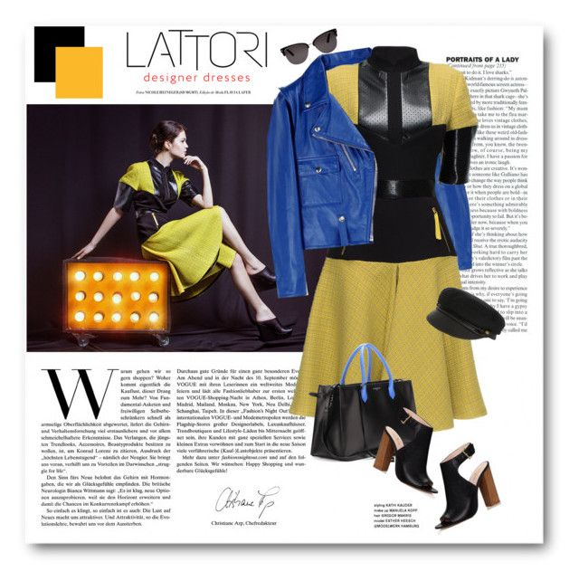 """LATTORI dress"" by svijetlana ❤ liked on Polyvore featuring moda, Golden Goose, Lattori, Eugenia Kim, Balenciaga, Kate Spade, Tom Ford, polyvoreeditorial ve lattori"