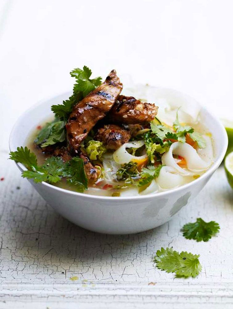 Jamie's Vietnamese-Style Chicken Broth