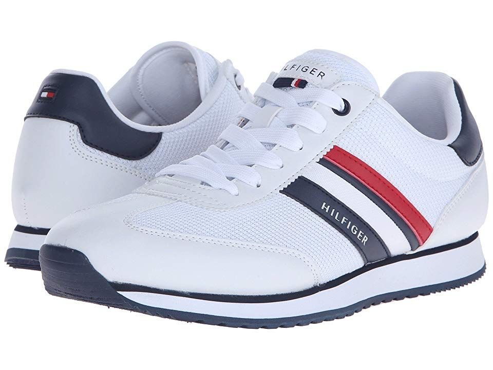 3b31384a1515 Tommy Hilfiger Mallorca (White) Men s Shoes. Classic style is only an step  away with these Tommy Hilfiger shoes. Mesh and synthetic upper with tonal  ...