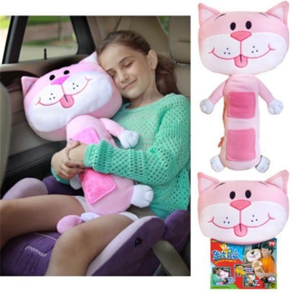 Seat Pets Pink Cat Plisanci Igracke Plava Zebra Pink Stuffed Animals Cat Pillow Best Toddler Toys