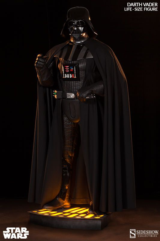 Star Wars Darth Vader Life Size Figure By Sideshow Collectib Star Wars Darth Vader Darth Vader Star Wars