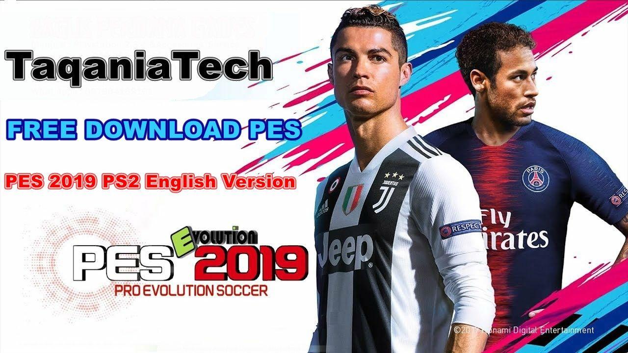 تحميل لعبة PES 2019 PS2 English Version | Playstation 3