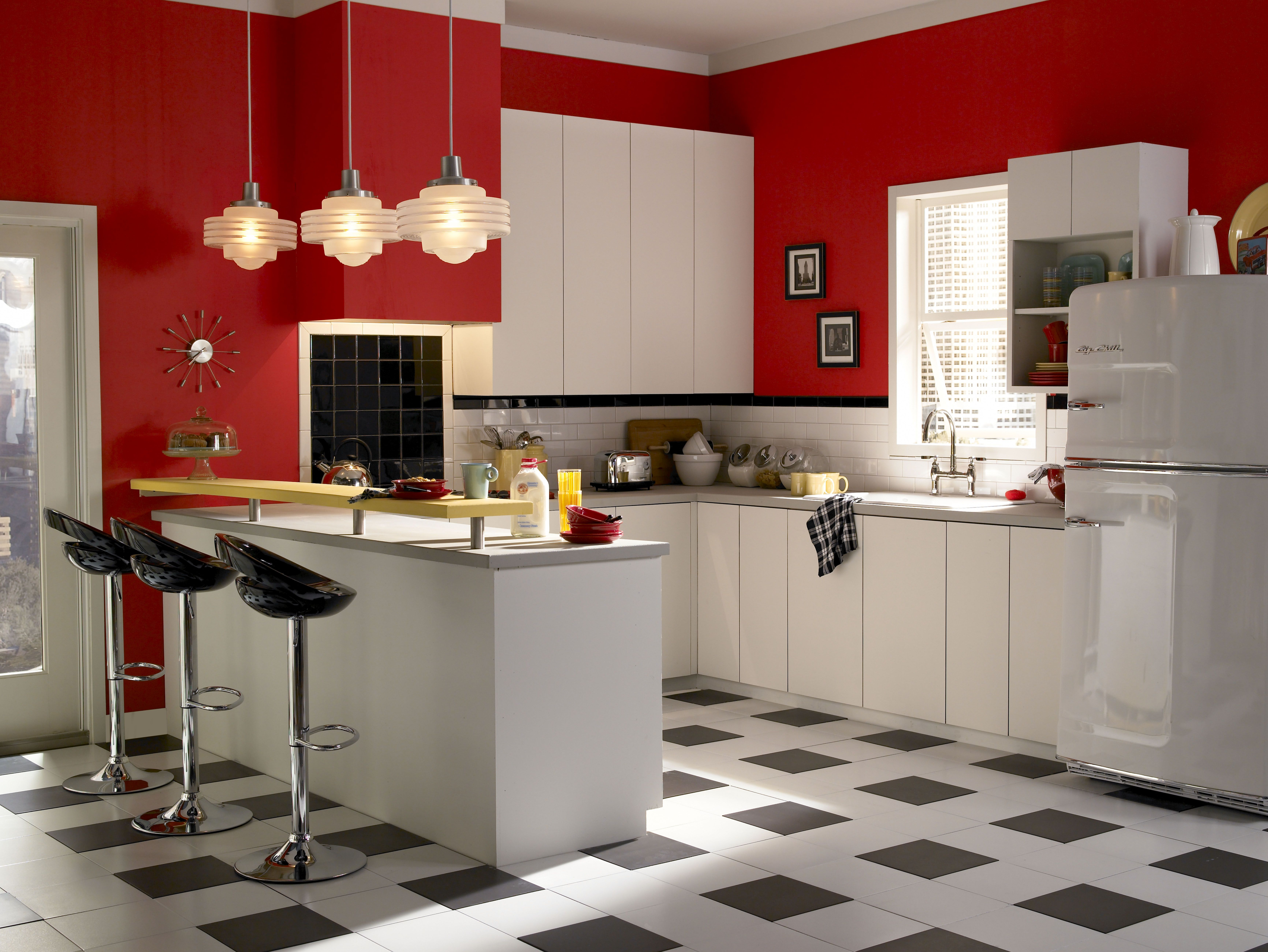 Retro Kitchen Ideas Retro Kitchen Appliances Gallery  Celebrity Kitchens Celebrity