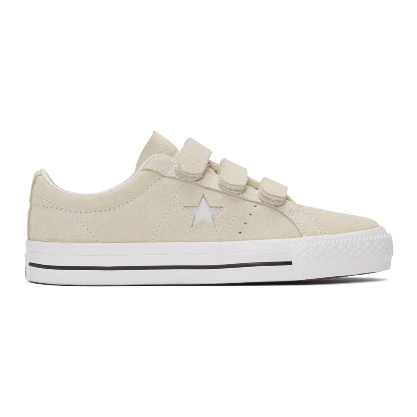 bc454e583610e5 Converse - Off-White Suede One Star Pro Sneakers