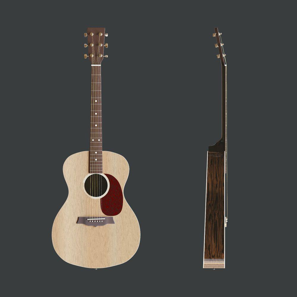 Model An Acoustic Guitar 3d Tutorial Blender 3d 3d Model
