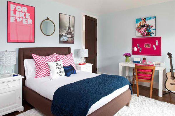 Comment relooker la chambre d\'une adolescente | Room ideas, Bedrooms ...