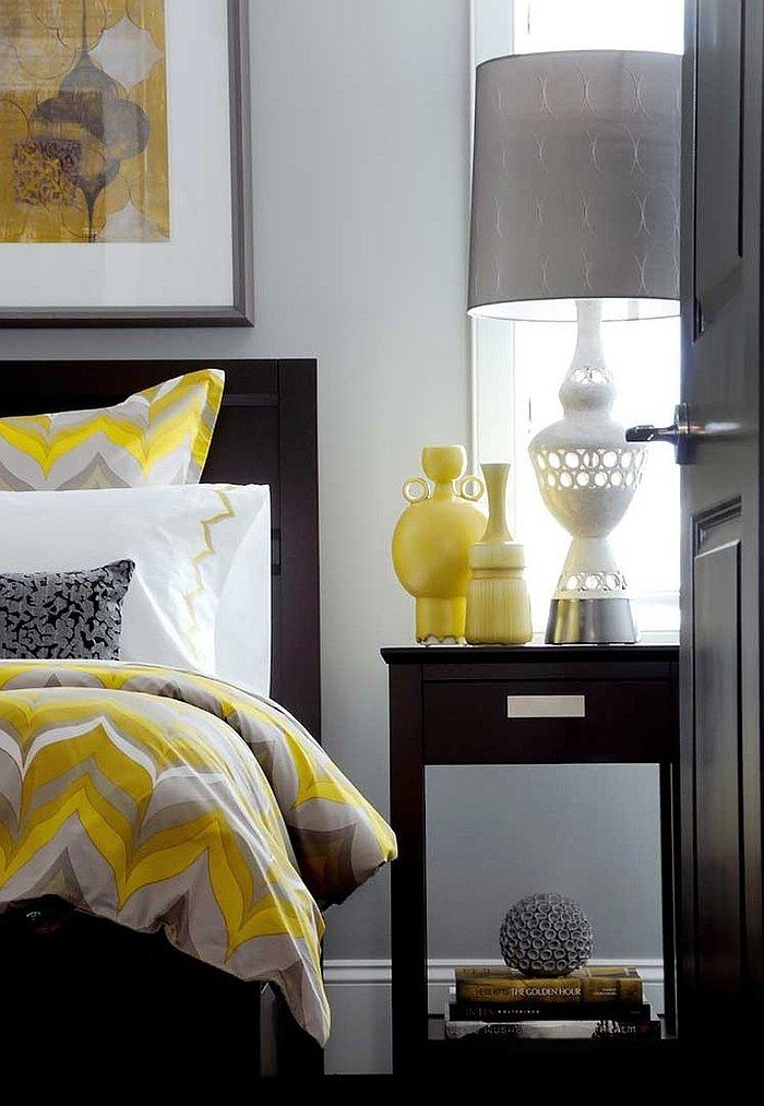 Best Idee Deco Chambre Gris Et Jaune S Amazing House Design ...