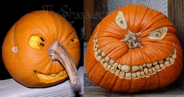 Как сделать красивую тыкву на Хэллоуин (+фото), раскраска ...