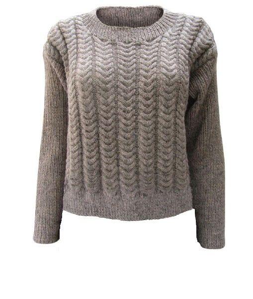 Karen Marias Sweater Kort Model Kvinder Andre Designere