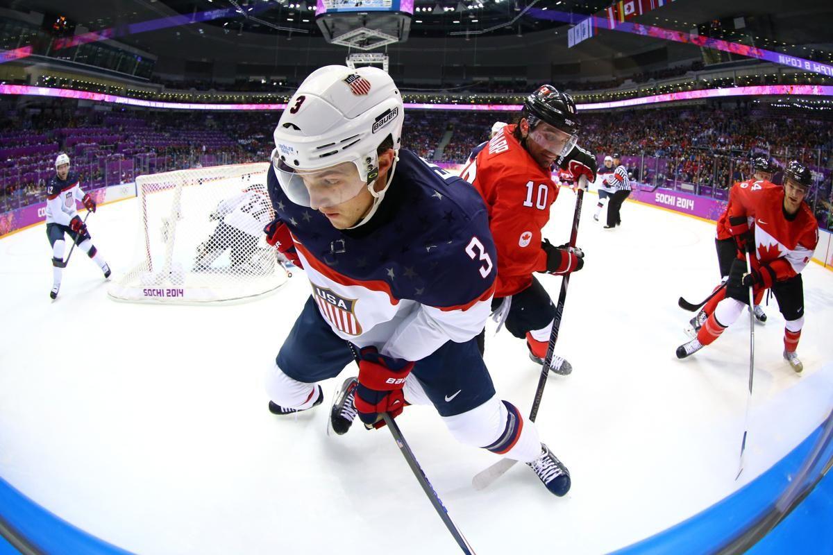 Canada ends USA's run for hockey gold Hockey, Winter